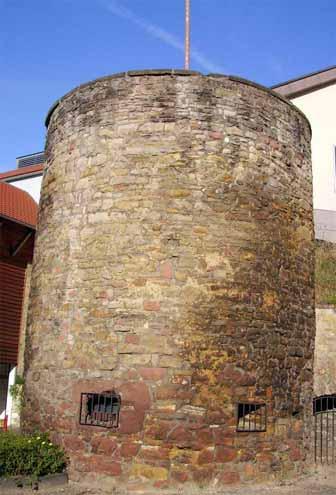 Turm der alten Stadtmauer, Bad Dürkheim