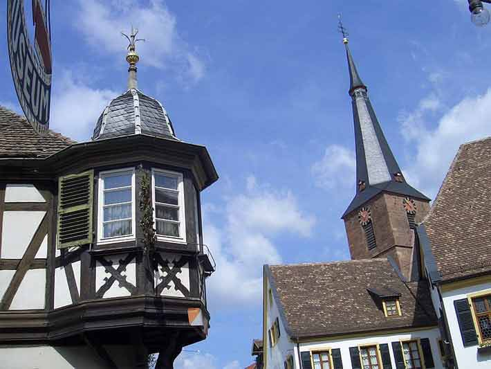 Zentrum von Deidesheim