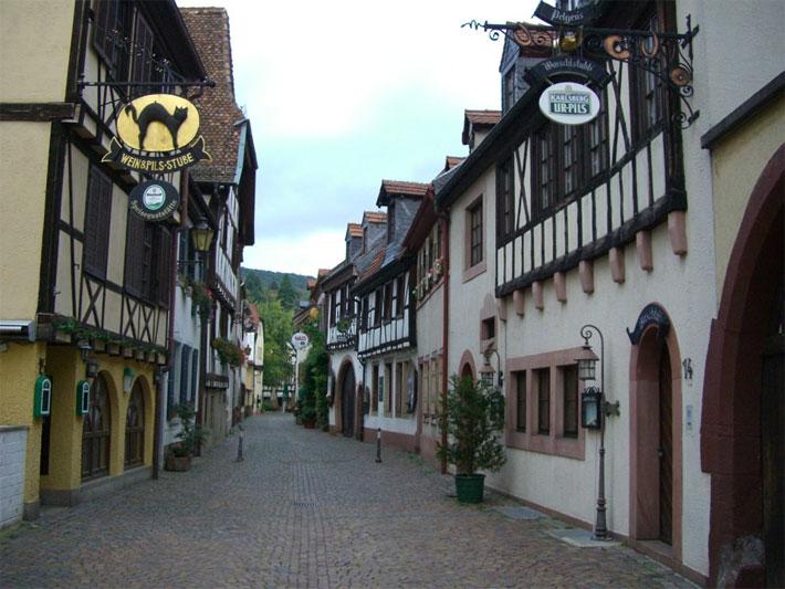 Zentrum von Neustadt an der Weinstrasse